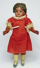 bisque doll unusual rare 6 5 tall bisque
