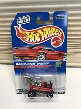 radio flyer wagon 1997 hot wheels red collection 827