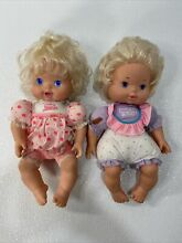 baby alive lot 2 kenner 1990s dolls baby all