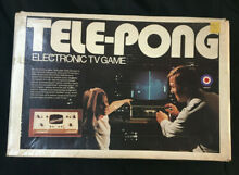 entex telepong electronic tv game by in