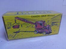 cij reedition camion renault grue
