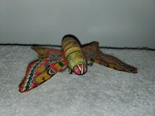alps friction tin litho toy butterfly w