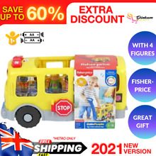 little people school bus iconic press buttons