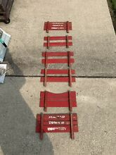 radio flyer wagon town country wood rails 6 pieces