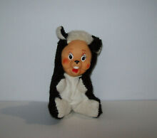 rushton dolls stinky skunk rubber face squeaky
