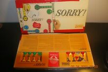 sorry game parker brothers sorry 1964 board