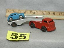 barclay die cast auto carrier truck one