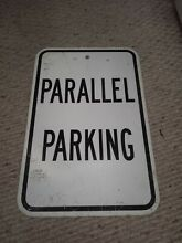 road sign real road street highway parallel