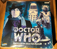 dr who doctor who dalek plate