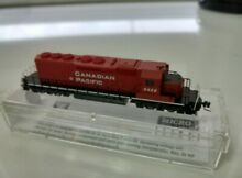 n scale z scale canadian pacific sd40 2