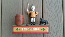hubley trick dog bank 1930 s to 1950 s old