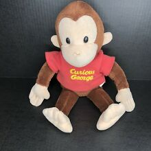 russ berrie classic curious george plush by