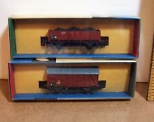 2 n scale freight cars mib