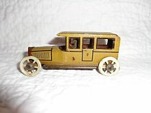 george fischer tin penny car toy