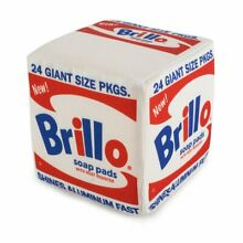 kidrobot andy warhol x kid robot brillo box