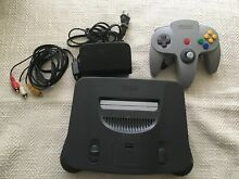 nintendo 64 n64 game console system