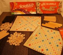 scrabble board game replacement pieces tiles