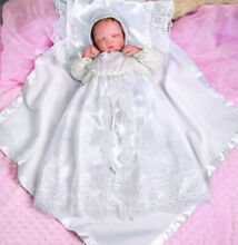 so truly real new in box christening newborn baby