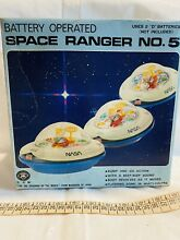 flying saucer space ranger no5 tin spielzeug ufo