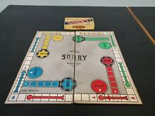 sorry game great game sorry game 1950 parker
