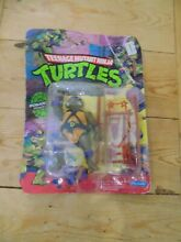 tmnt donatello 5 action figure carded