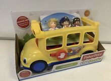 little people fisher price sit me school bus in