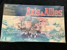axis allies board game mb axis allies rare collectable