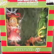 enesco cindy lou holding cup grinch max