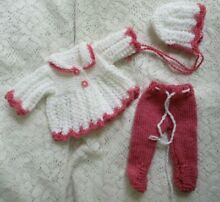 so truly real doll clothes handknitted 3pc set