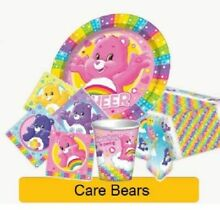 care bears birthday party supplies tableware