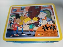 arnold new nickelodeon hey tin metal lunch