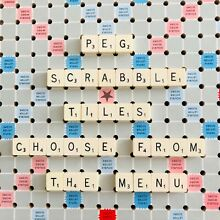 scrabble travel spare replacement tiles