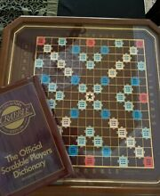 scrabble franklin mint collector s edition