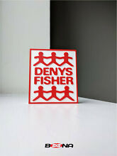 denys fisher decorative self standing logo