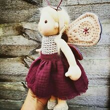 waldorf butterfly fairy doll