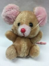 russ berrie 1970s collectible 7 plush mouse