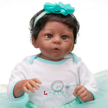 african american reborn 55cm realistic soft touch african
