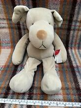 russ berrie homer dog 20 mbna beanie soft toy