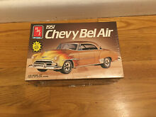 amt model kits amt 1951 chevy belair 1 25 scale
