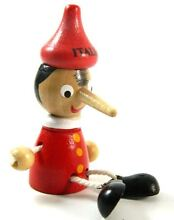 wooden puppet pinocchio toy figure doll wood