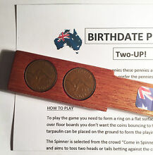 1940 birthdate penny two up set 2