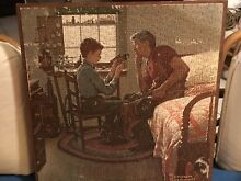 norman rockwell puzzle norman rockwell rare jigsaw puzzle