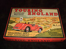 touring game touring england family board game