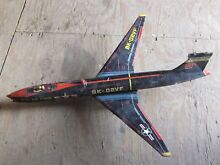 us air force tin toy plane 1950