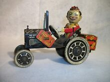 marx wind up joy rider tin car