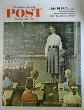 norman rockwell puzzle parker brothers saturday evening