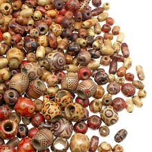 wooden 500 beads for jewelry making