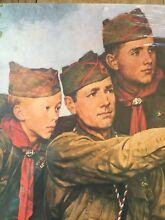 norman rockwell puzzle new norman rockwell boy scouts