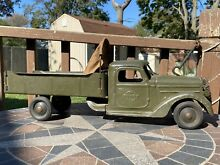 army men 1930 s buddy l army troop carrier