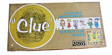 board game parker brothers detective clue 1950